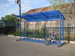 Велопарковка крытая на 12 мест. 35 190 000